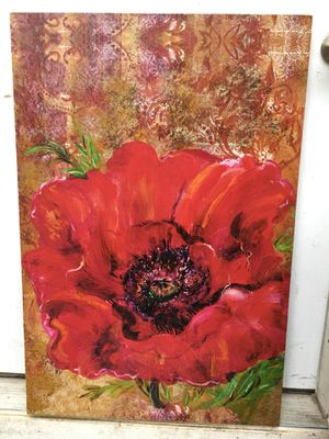 "Original oil painting with out frame 24""-36"" for Sale in Marysville, WA"