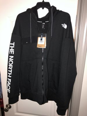 Black North Face Zip-up hoodie for Sale in Greenville, NC