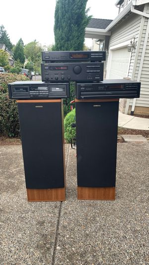 Onkyo stereo set for Sale in Clackamas, OR