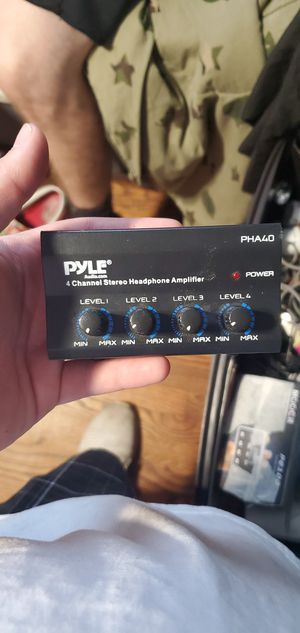 Pyle Headphone Amp for Sale in Southgate, MI