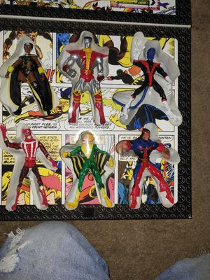 X men 1986 action figures for Sale in Strasburg, VA