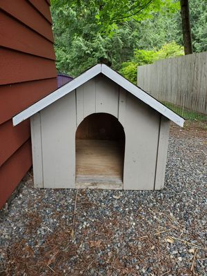 Wooden dog house for Sale in Renton, WA