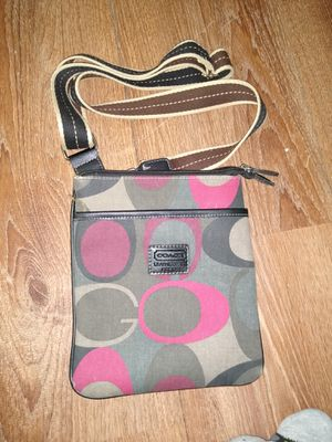COACH crossover bag canvas for Sale in St. Louis, MO