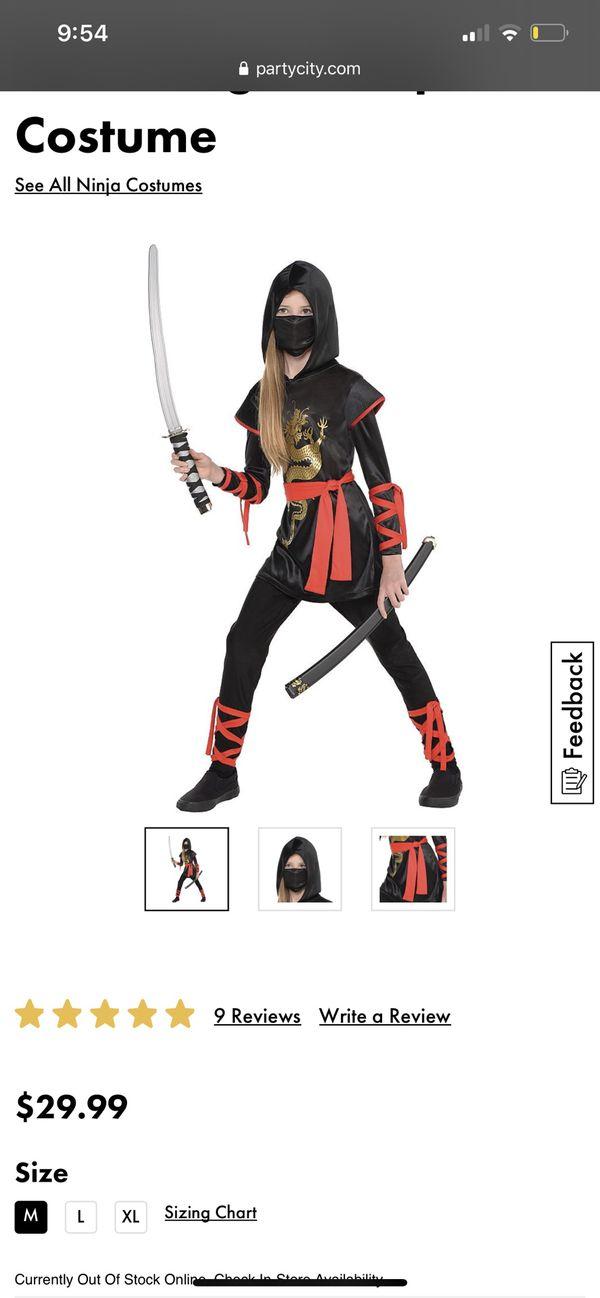 Girl ninja costume