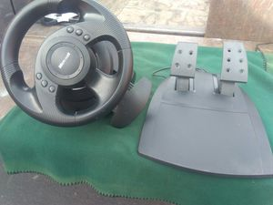 Microsoft wheel and pedals for Sale in Poway, CA