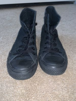 Converse High Top All black for Sale in Shelby Charter Township, MI