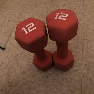 2 - 12 Pound Weights for Sale in The Bronx, NY