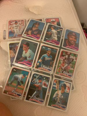 1989 Topps baseball cards for Sale in Montgomery Village, MD