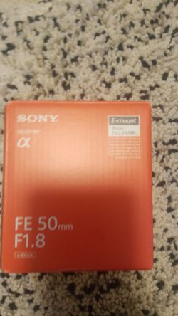 Sony camera Lens for Sale in Kirkland,  WA