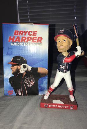 2018 Bryce Harper Patriotic Bobblehead for Sale in Fairfax, VA