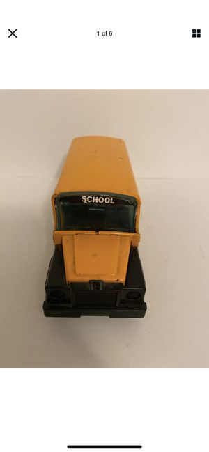 Vintage BUDDY L School Bus Made in Japan 1980 Toy Vehicle Collectible for Sale in Forney, TX