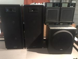 "Pro audio Speakers with 12"" subwoofer for Sale in Lakeland, FL"