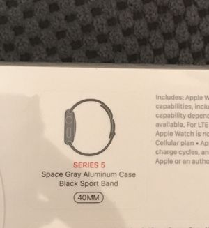 Apple Watch Series 5 (GPS+CELLULAR) NEW for Sale in Gaithersburg, MD