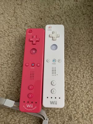 Wii controllers (2) for Sale in Pomona, CA