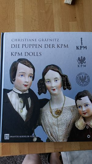 Hardcover book about KPM dolls for Sale in Federal Way, WA
