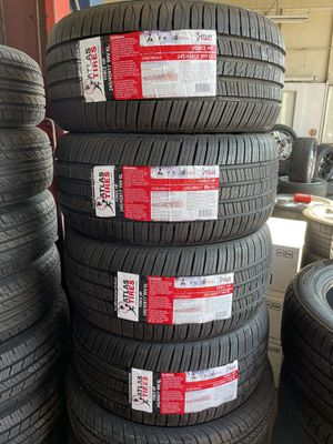 WE GOT BEST PRICES ON BRAND NEW TIRES CALL OR TEXT NOW for Sale in Tracy, CA