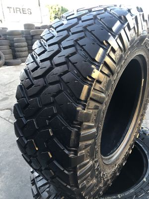 295/70R18 Nitto M/T tires (4 for $400) for Sale in Santa Fe Springs, CA