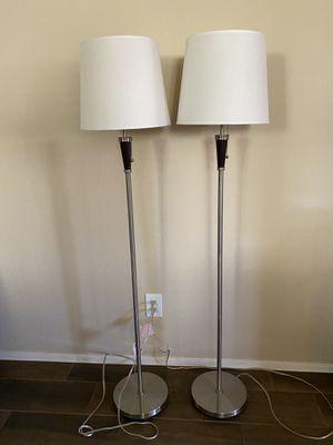 Floor Lamp, set of 2 for Sale in Peoria, AZ