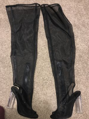 SHEER THIGH BOOT HEELS for Sale in Vallejo, CA