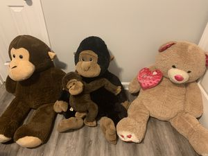 Stuffed Animals for Sale in Angier, NC