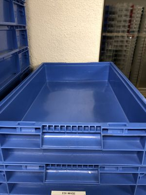 Storage Container Plastic Stackable (Storage Bin) for Sale in Carrollton, TX