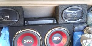 12 inch subs and sony amp for Sale in Glasgow, VA