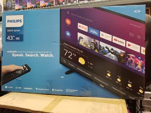 """43"""" LED SMART 4K ULTRA HDTV BY PHILLIPS. Latest MODEL for Sale in Los Angeles, CA"""