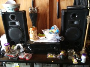 Pioneer Bluetooth receiver and Jenson speakers for Sale in Murfreesboro, TN