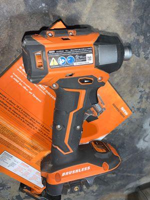 Rigid impact drill octane 3 speed for Sale in Aurora, IL