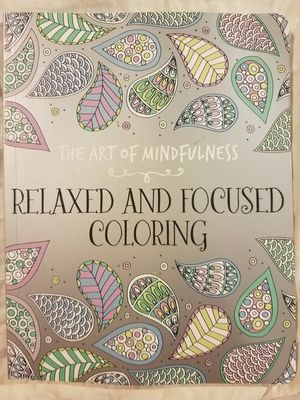 (New) Relaxed and Focused Coloring for Sale in Providence, RI