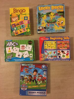 Puzzles and games for Sale in Portola Hills, CA