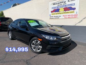 2017 Honda Civic LX, Financing available, apply online today for Sale in Glendale, AZ