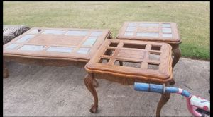 Coffee & End Tables -Complete for Sale in Weslaco, TX
