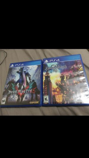 Kingdom hearts 3 and Devil May Cry 5 for Sale in Miami, FL