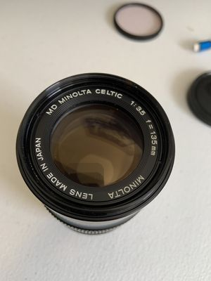 Minolta MD Celtic 135 mm f/3.5 Lens for Sale in Ocean Ridge, FL