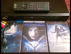 SONY DVD/CD PLAYER - [DVP-NS4000] + UNDERWORLD TRILOGY ON DVD! OFF TO COLLEGE/GUEST ROOM SPECIAL!!! for Sale in Los Angeles, CA