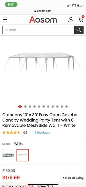Tent 10 x 20 New for Sale in Temple Hills, MD