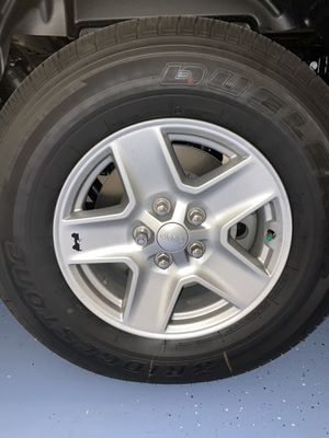 Jeep wheels and tires for Sale in Palm Harbor, FL