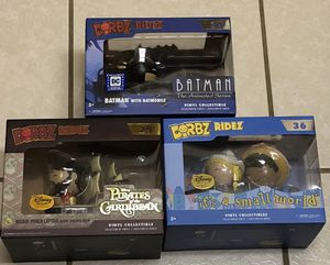New Funko Dorbz Ridez Batman, Disney It's a Small World, Pirates of the Caribbean $10 each for Sale in Spring Hill, FL