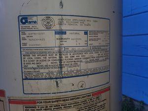 29 gal gas water heater for Sale in San Jose, CA