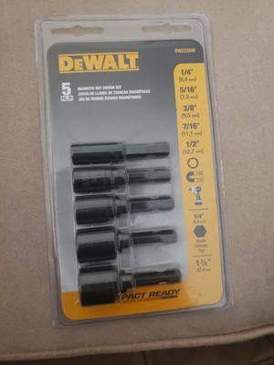 Dewalt Magnetic Nut Driver Set for Sale in Downey, CA