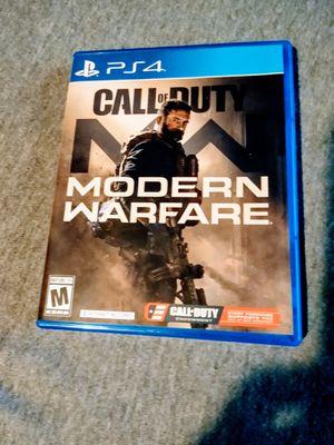 Modern Warfare PlayStation 4 MINT!! for Sale in Port Richey, FL