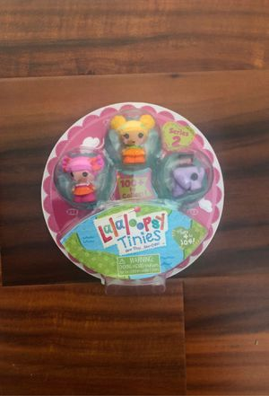 New Lalaloopsy Tinies. Season 2. 3 dolls for Sale in Calabasas, CA