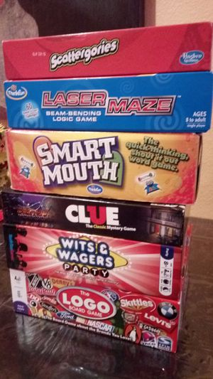 Board games. Excellent condition. No missing pieces for Sale in Allen, TX