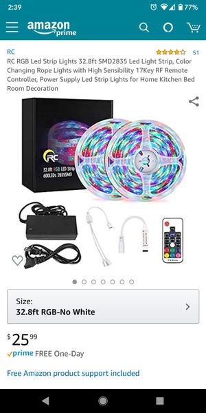Rc led strip lights for Sale in Paramount, CA
