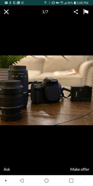 Canon eos t7 rebel camera for Sale in Zephyrhills, FL