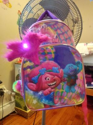 Trolls pink girls backpack NEW for Sale in Rahway, NJ