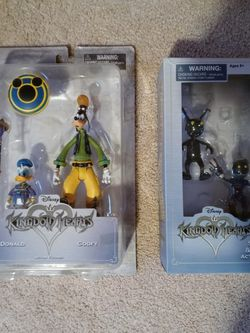 Kingdom Hearts Action Figures! Goofy Donald, Shadow And Soldier for Sale in Vancouver,  WA