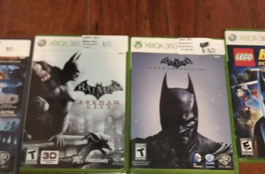 Batman Xbox 360 Video games Set ($20 For All) for Sale in Rowland Heights,  CA