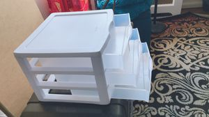 Plastic drawer/organizer for Sale in Garden City, NY